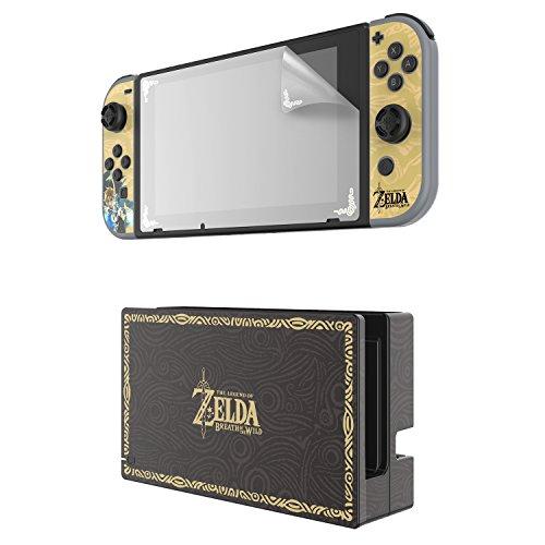 Kit De Personalización Zelda, Edición Coleccionista (Nintendo Switch)