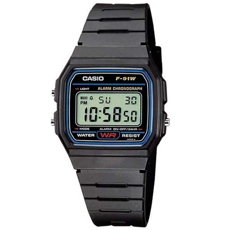 Reloj vintage Casio F-91W