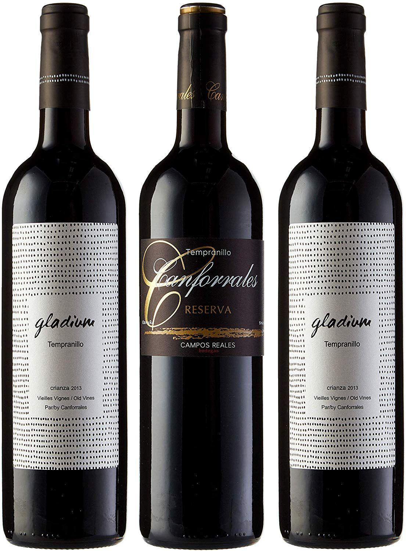 Pack de Vino Viñas viejas - Paquete de 3 x 750 ml - Total: 2250 ml