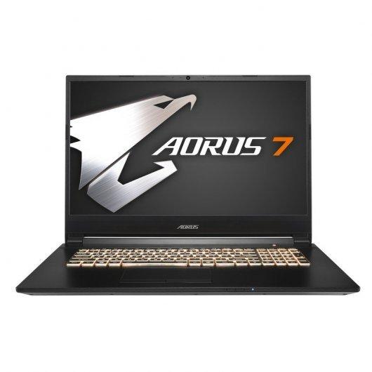 """Portátil Gigabyte Aorus 7 SA-7ES1131SH Intel Core i7-9750H/16GB/1TB+512GB SSD/GTX 1660Ti/17.3"""""""