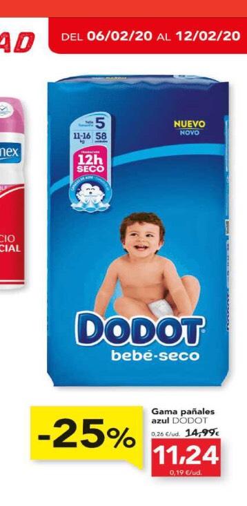 DIA: dodot azul a 11,24€ / pack