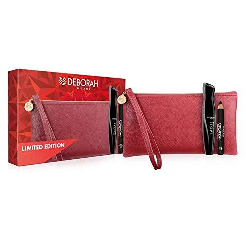 Deborah Milano Maquillaje Para Los Ojos Deborah Ojos Mascara 24 Ore Absolute Volume+Sombra+Necer O-6-1 unidad