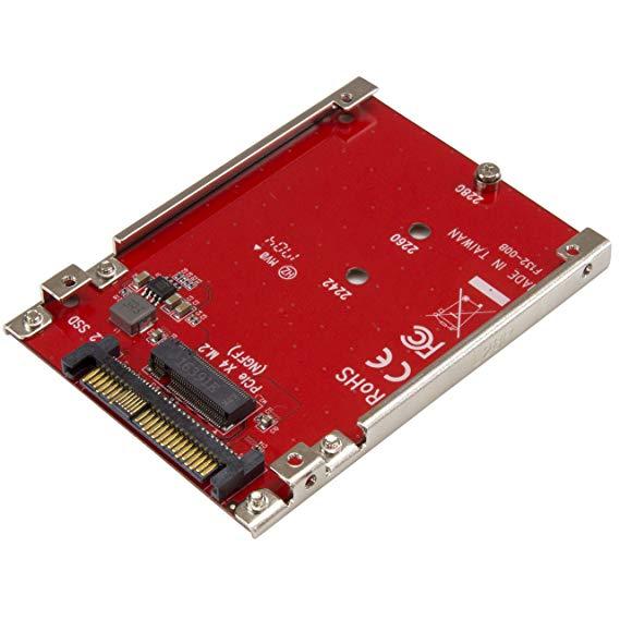 Adaptador Tarjeta PCI-E M.2 A U.2 | De 2º mano Como nuevo
