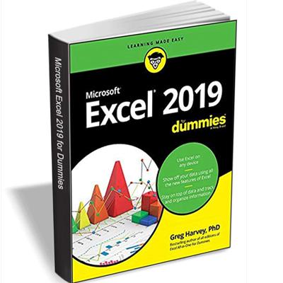 Gratis, el libro Excel 2019 For Dummies