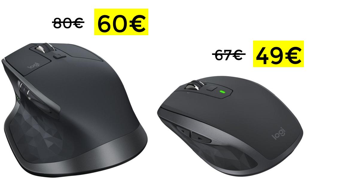 Logitech MX Master 2S solo 60€