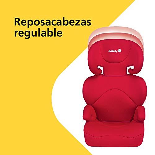 Safety 1st Road Safe Silla de coche para Niños, Grupo 2/3, 3-12 años, 15-36 kg, Rojo