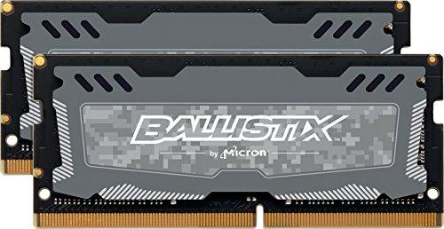 Crucial Ballistix Sport LT 2666 MHz DDR4 Kit 32 GB (16 GB x 2), CL16