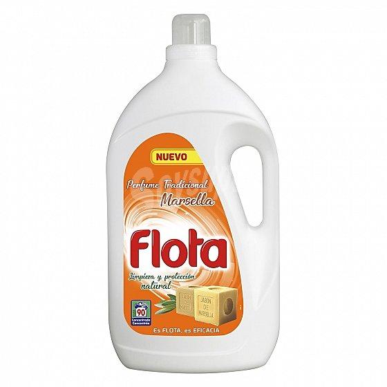 Detergente Flota 90 lavados 0,07€ lavado