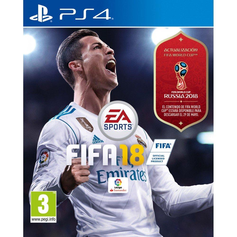 FIFA 18 PS4 JUEGO FÍSICO + DESCARGA FIFA WORLD CUP RUSSIA 2018 PLAYSTATION 4
