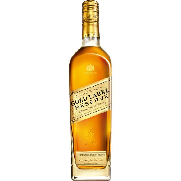 JOHNNIE WALKER Gold Label whisky escocés reserva botella 70 cl