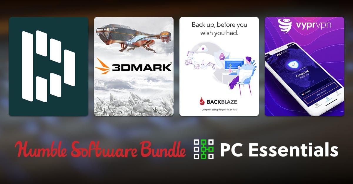 Humble Bundle PC Essentials (pack antivirus, benchmark y más software)