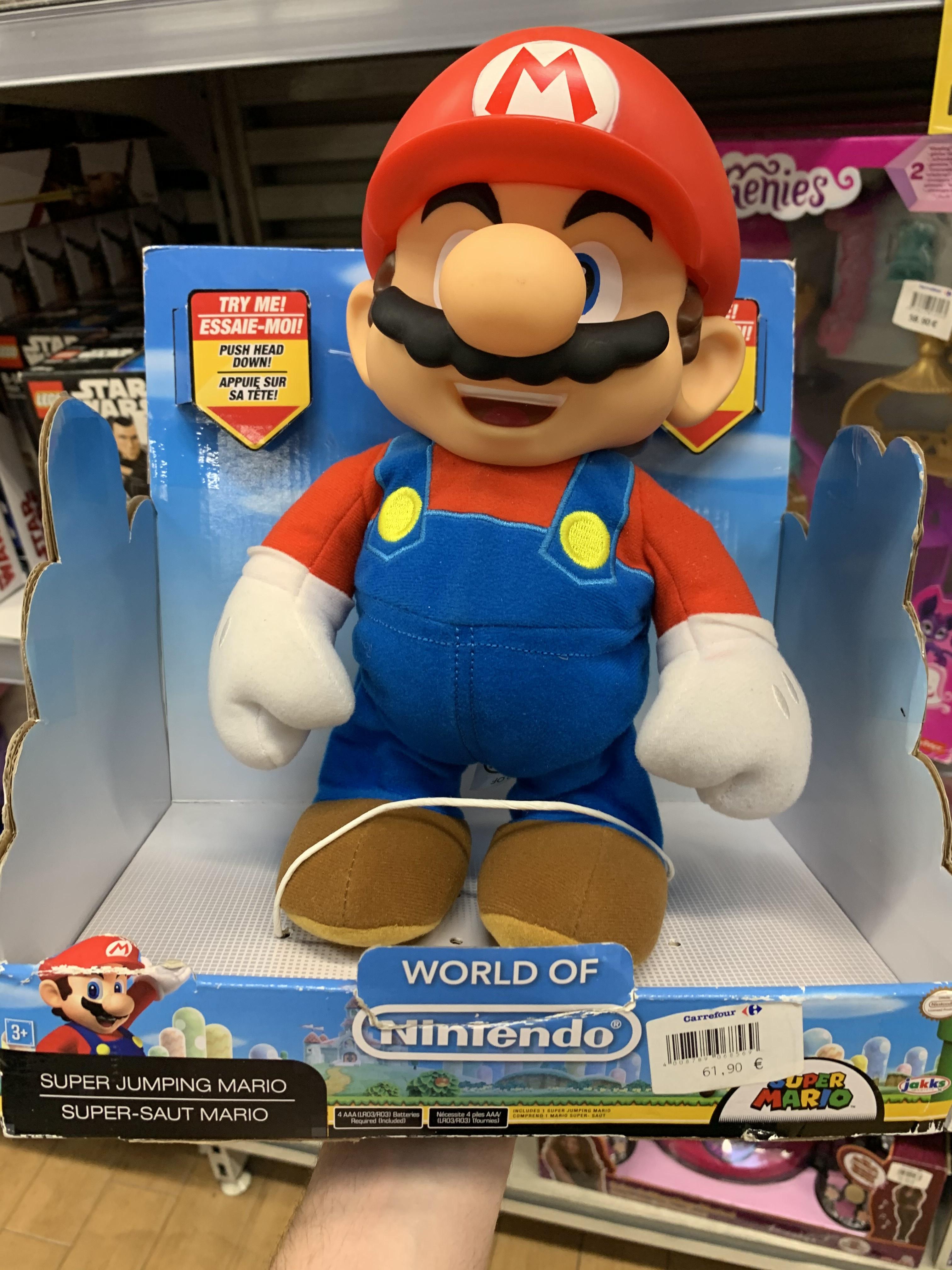 Nintendo Super Jumping Mario (Carrefour Atalayas)