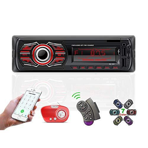 TOYOUSONIC 12V Universal Autoradio 1 DIN Bluetooth