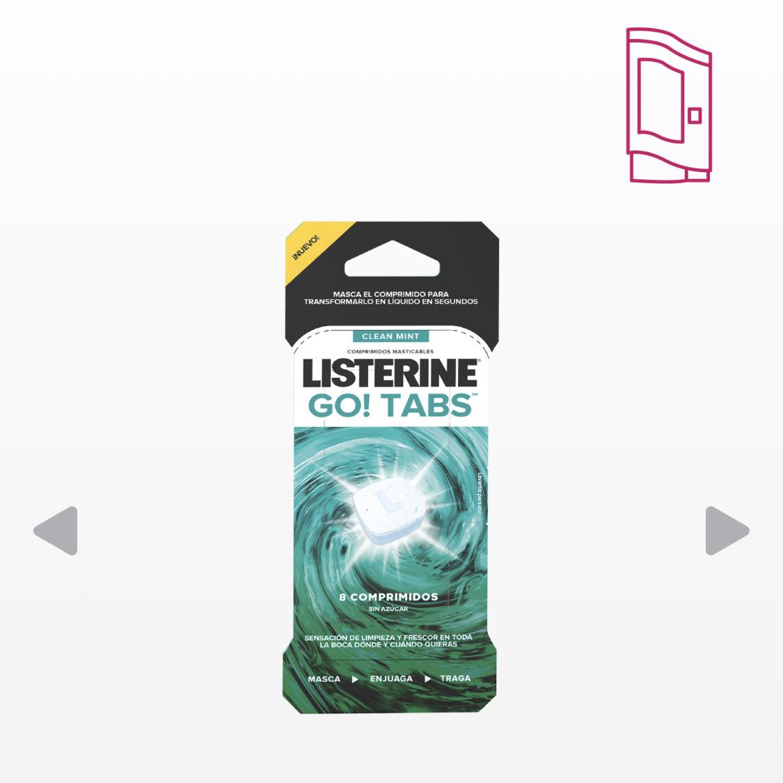 Listerine Go Tabs - Samplia Gratis