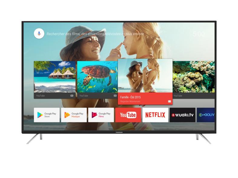 "TV LED 43"" Thomson, 4k ,Smart TV, Android TV"