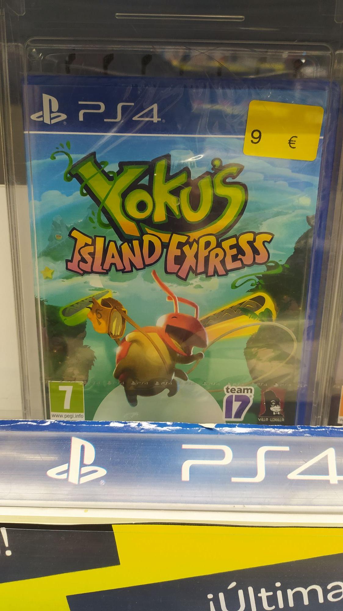 Yoku's Island Express PS4