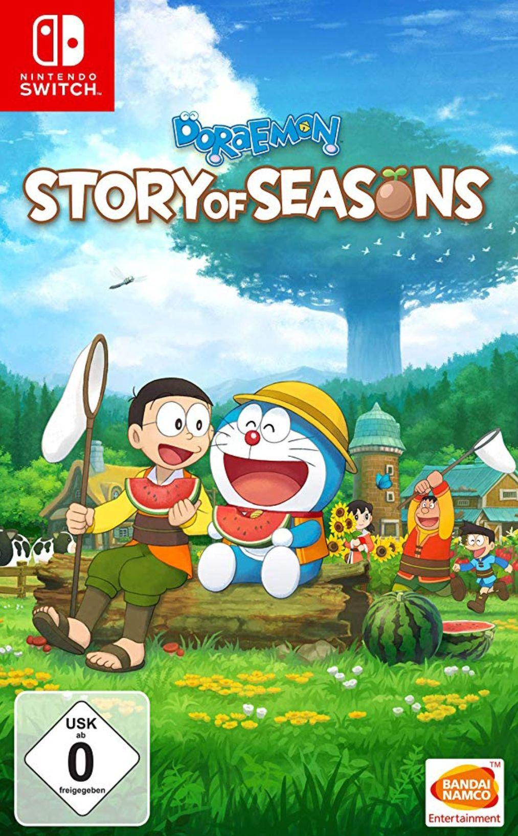 Doraemon Story of Seasons - Nintendo Switch [Importación alemana] Minimo histórico
