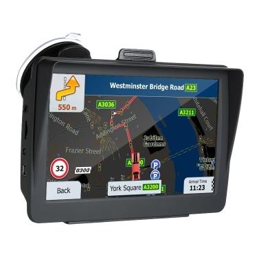 GPS HD de 7 pulgadas Guía de voz 8G mapas 3D de Europa