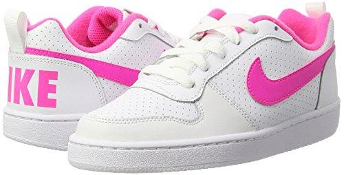 TALLA 37.5 - Nike Court Borough Low (GS), Zapatillas para Niñas o Mujer