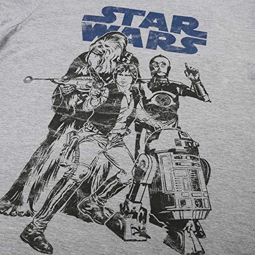 Star Wars Falcon Crew Camiseta para Hombre TALLA S