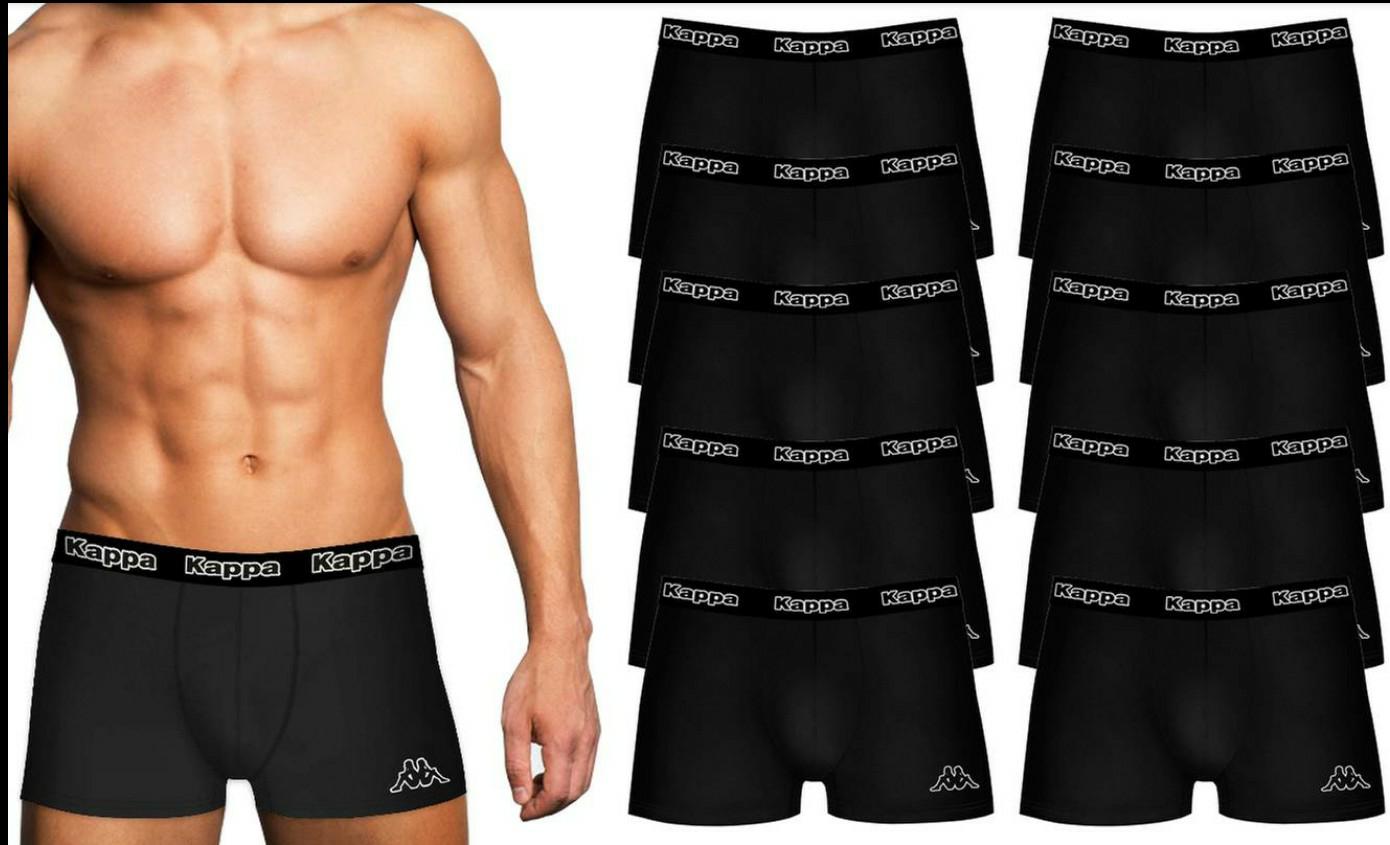 Pack de 10 calzoncillos KAPPA tipo boxer