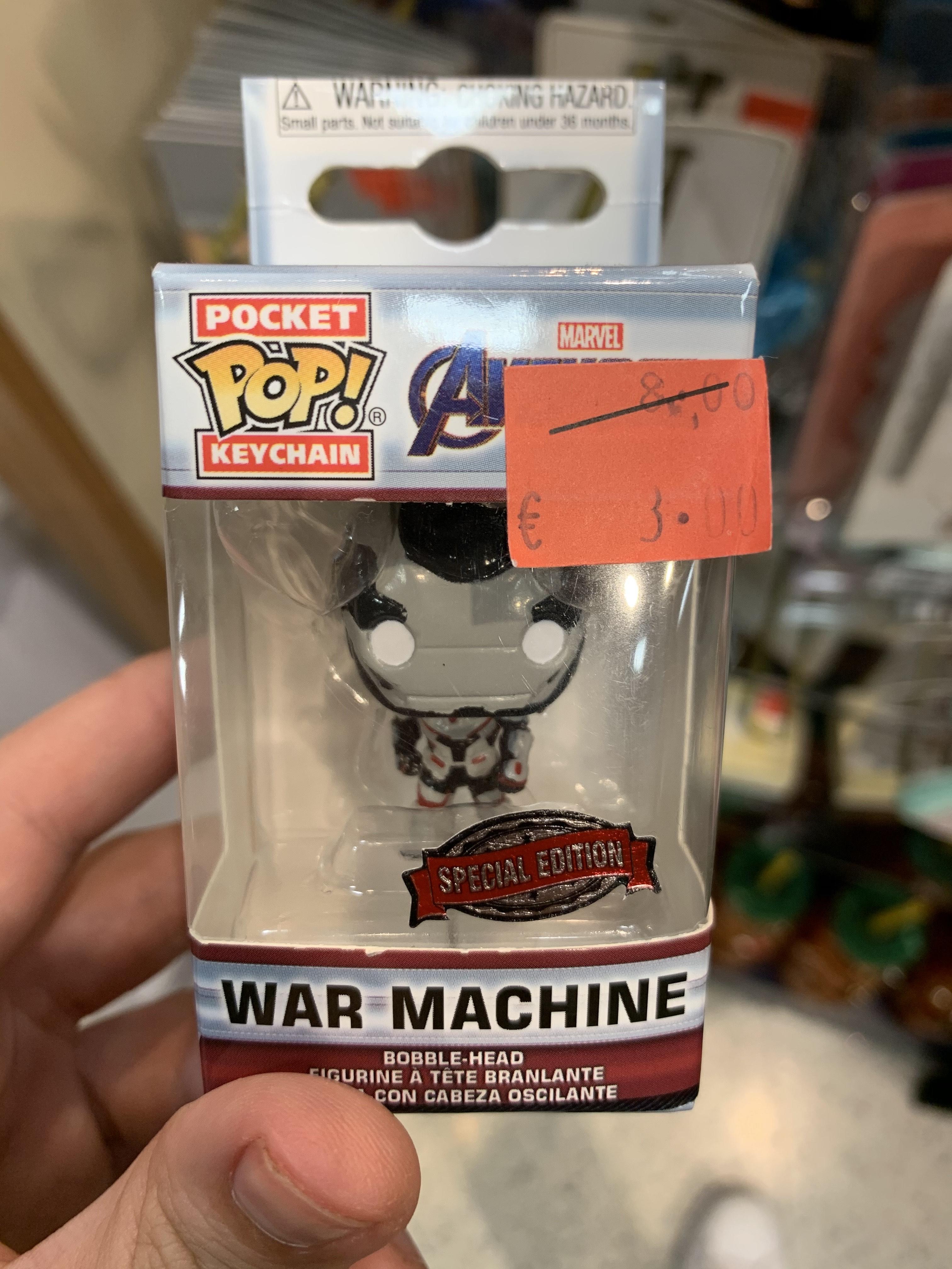 Funko Pocket Special Edition MARVEL War Machine (Disney Murcia)