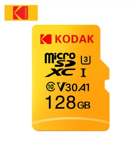 Tarjeta original MicroSD Kodak V30 A1 de 128GB (Con cupón del vendedor)