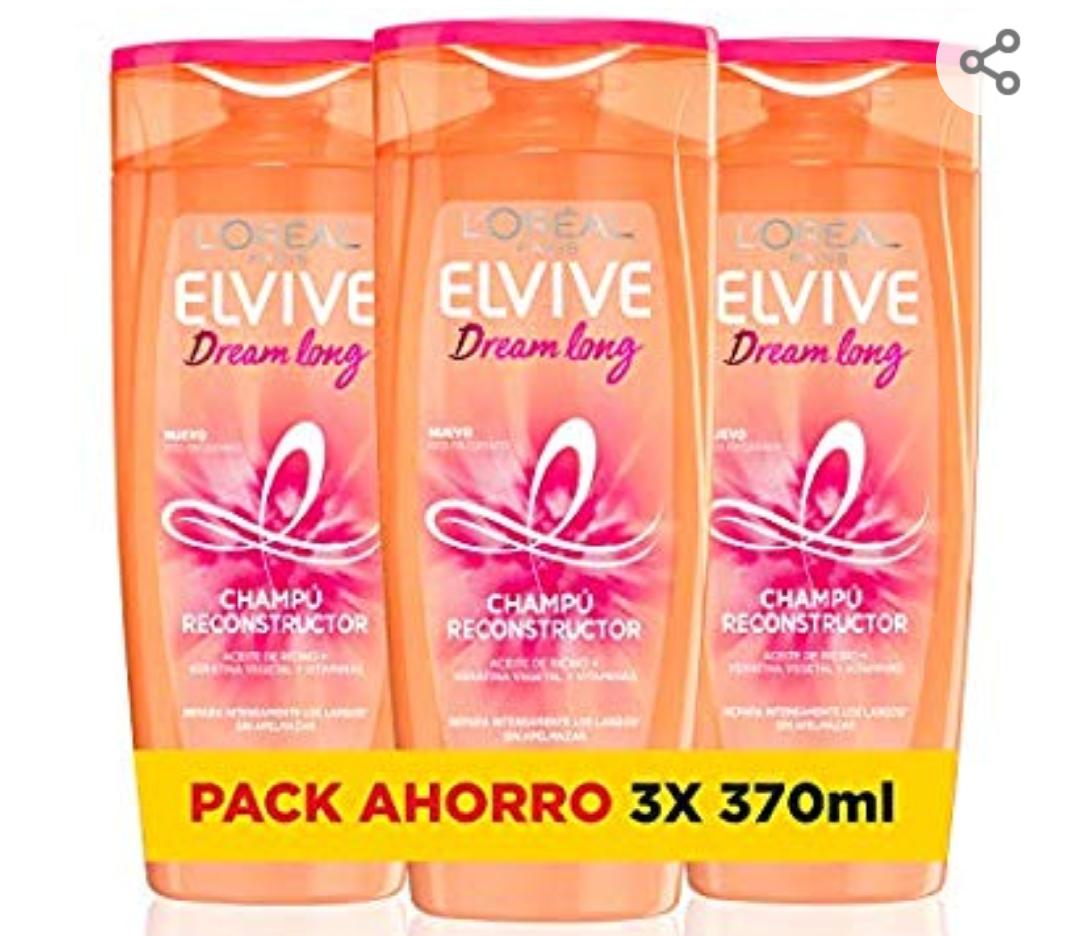 L'Oréal Elvive Dream Long 3 botes de champú
