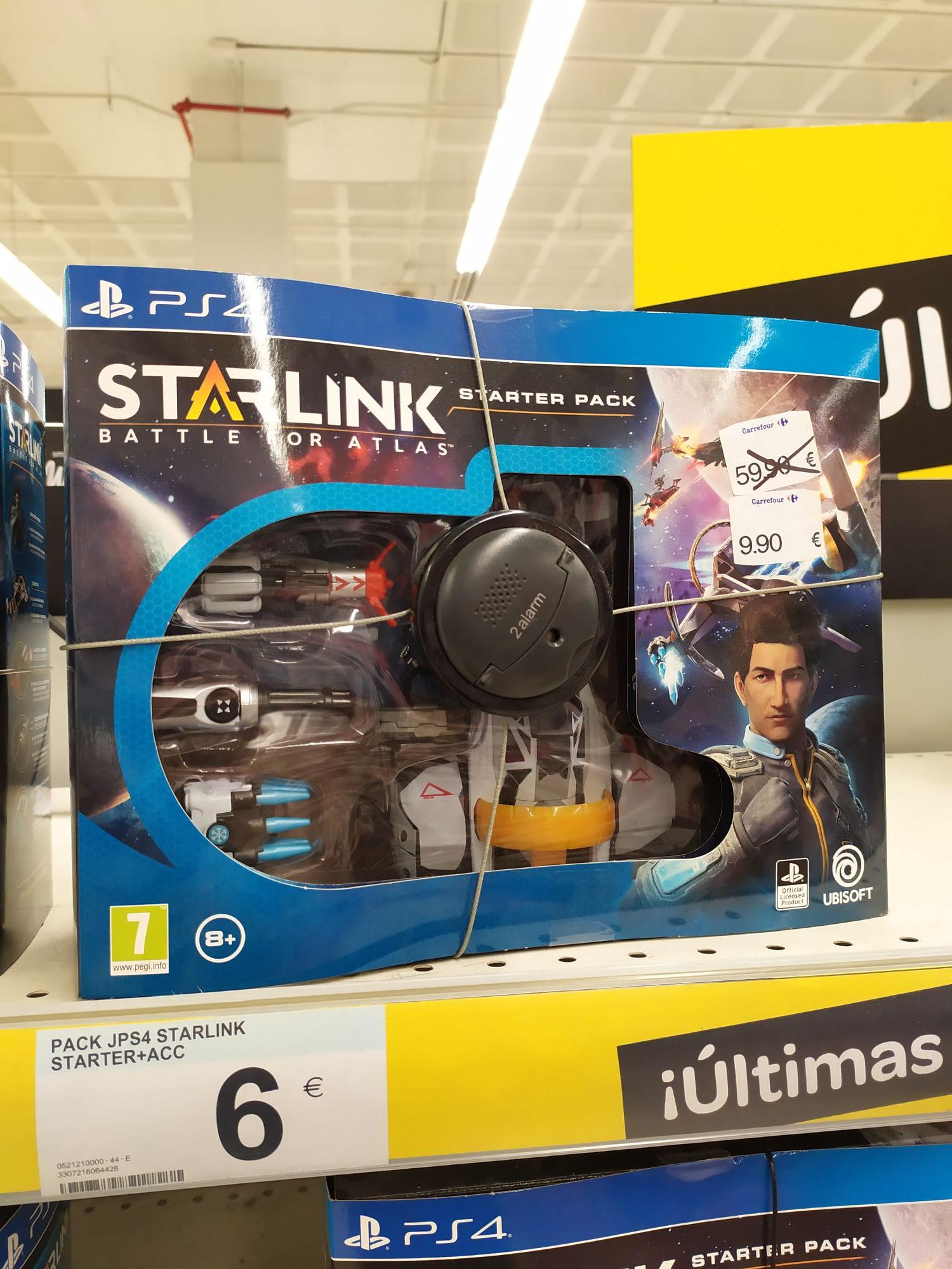 Juego starlink starter pack ps4 (Carrefour Gran Vía de Alicante)