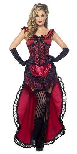 Disfraz chica burdel del Oeste (8 Unidades talla L - REACO Como nuevo)
