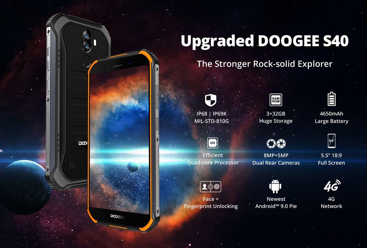 Teléfono DOOGEE S40 5.5 versión europea