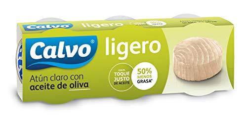 Pack 15 latas de Atún claro Calvo en Aceite de oliva