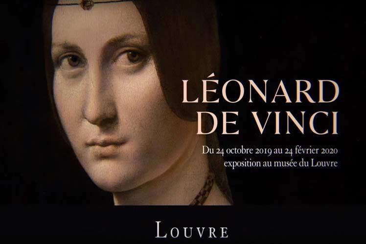 Leonardo DaVinci exposición nocturna GRATUITA Museo Del Louvre París