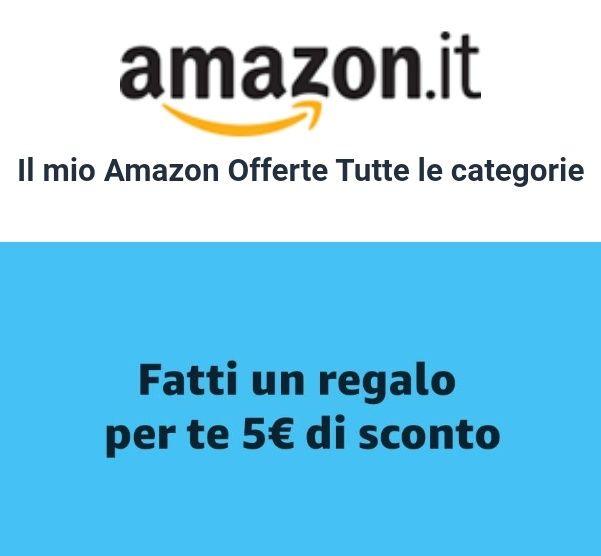 5€ de descuento en todo Amazon Italia (Seleccionadas)
