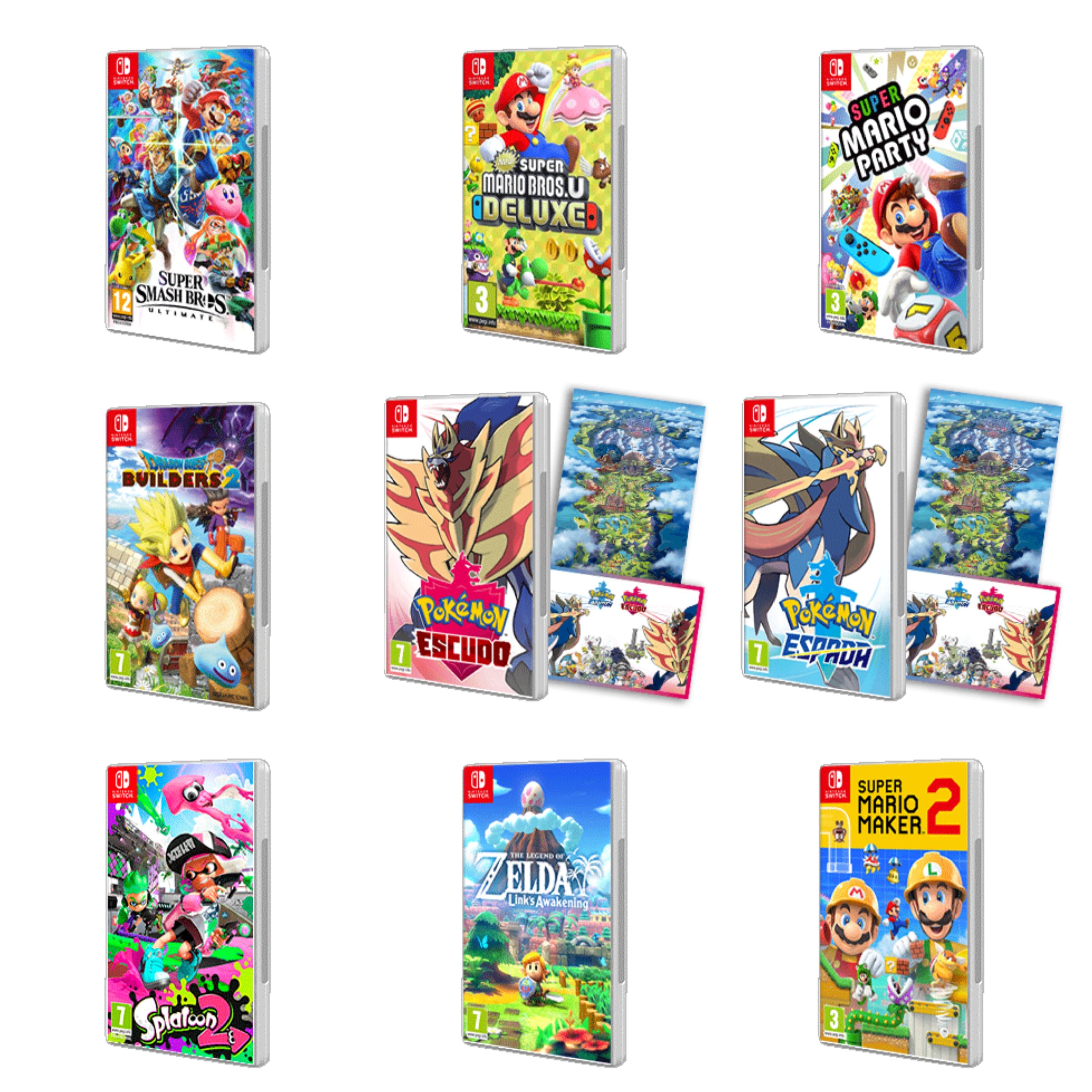 Recopilación descuentos Nintendo Switch (AlCampo)