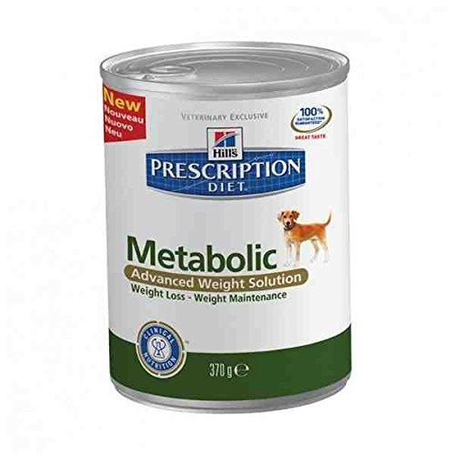12 Latas HILLS PET NUTRITION Metabolic Alimentos de Mascotas - 4 KG = 12 Latas