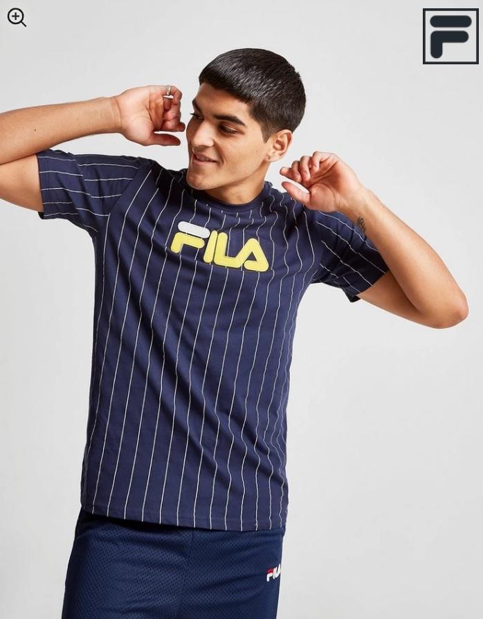 Fila Gregor Stripe T-Shirt 10€ y Fila camiseta Dale Stripe 12€