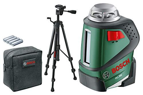Bosch PLL 360 - Nivel láser 360º con trípode