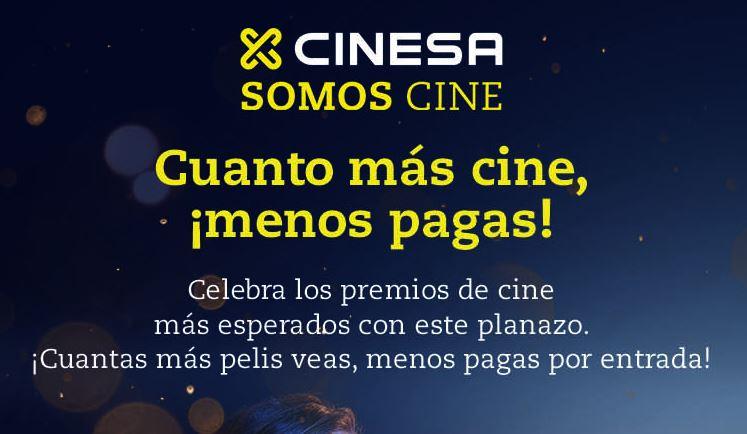 Cuanto + cine - pagas y palomitas