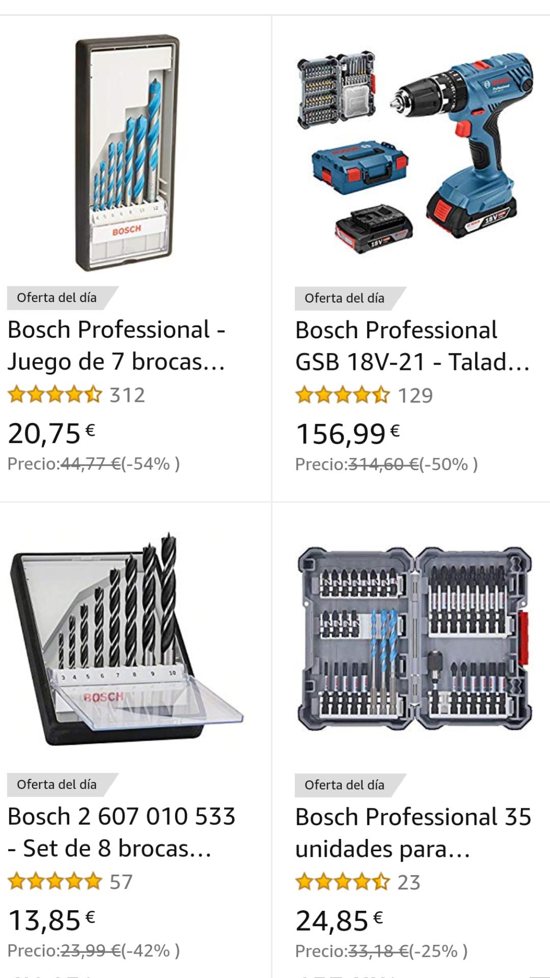 Hasta 25% Herramientas Bosch