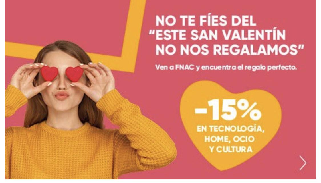 FNAC - Descuento hasta 15%