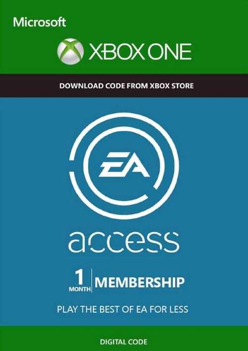EA Access - Suscripcio de 1 Mes (Xbox One)