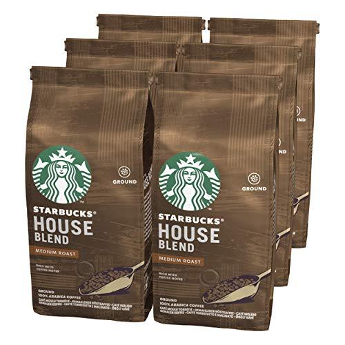 Pack 6 bolsas 200 g café Molido de tostado medio