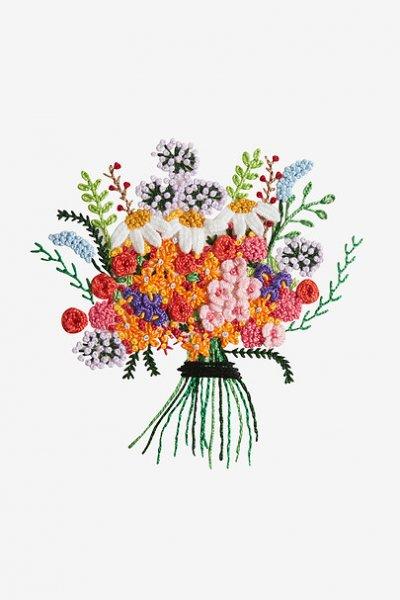 Diagramas florales 3D marca DMC
