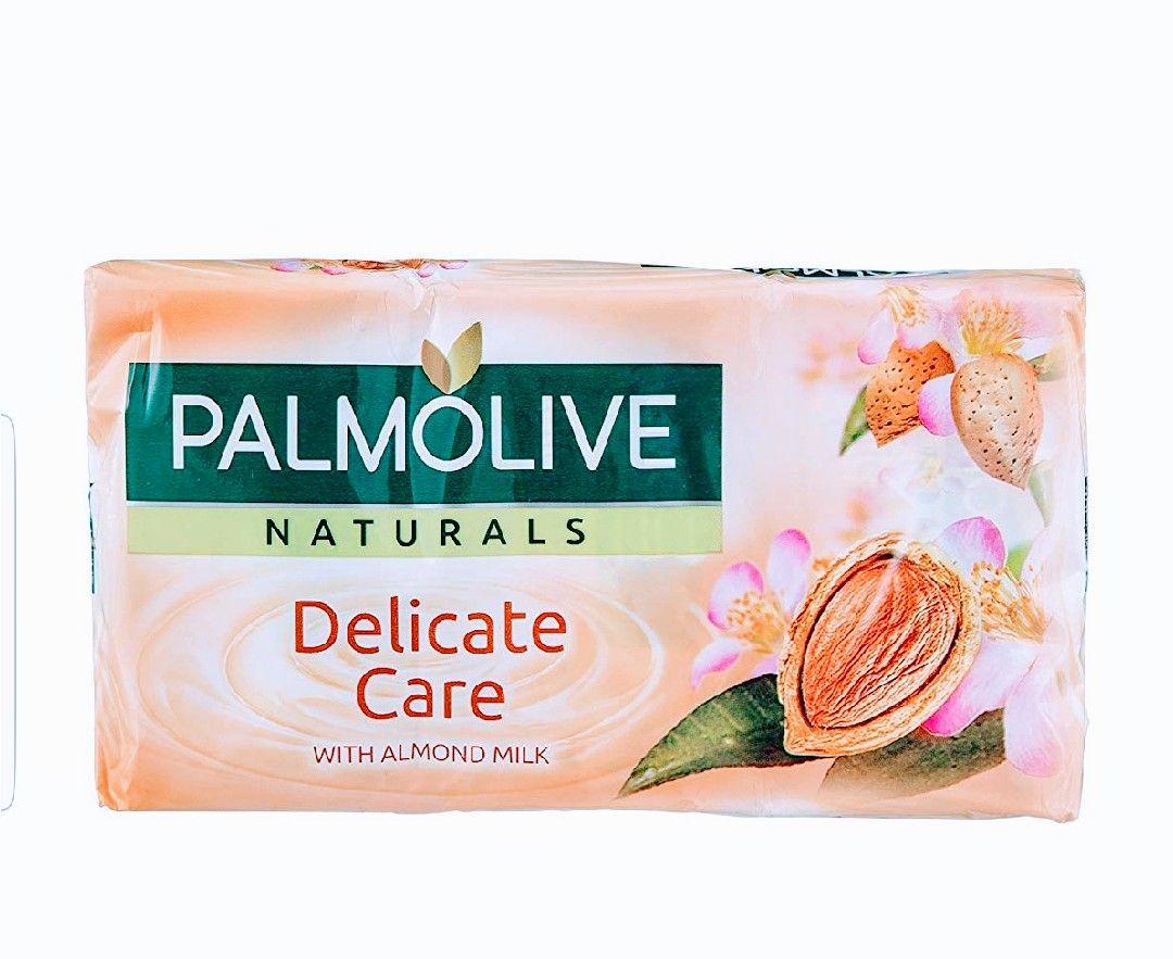 Palmolive Naturals Delicate with Almond Milk. Lote 3 piezas.