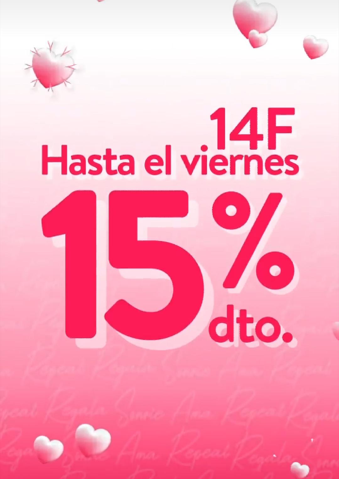 15% descuento en toda la web de PRIMOR