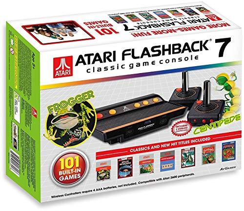 Console Atari Retro Flashback 7 + 101 juegos minimo historico