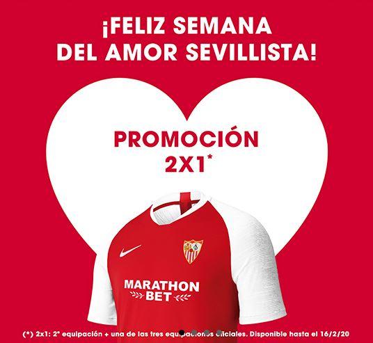 2x1 En camisetas del Sevilla FC