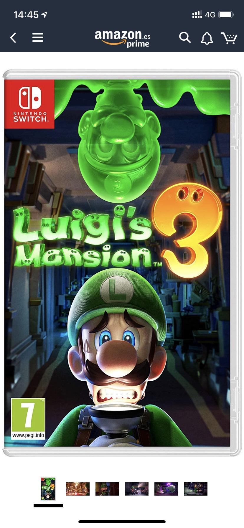 Luigi's Mansion 3 (Nintendo Switch) Amazon
