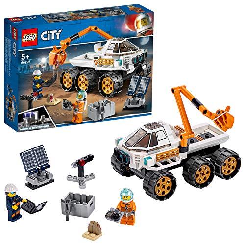 LEGO City Space Port Juguete de Construcción de Prueba de Conducción del Róver